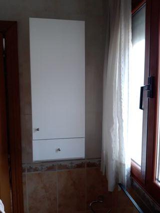 mueble baño en color blanco