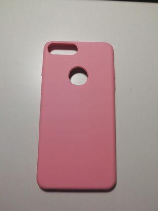 carcasa rosa iPhone 7 plus