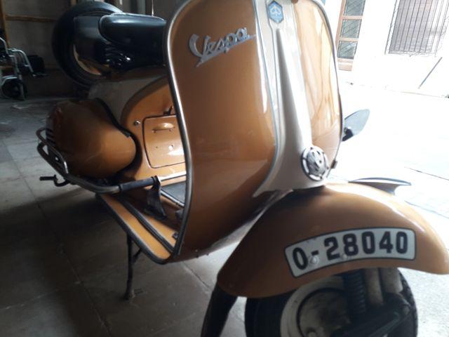 vespa 125 de 1958