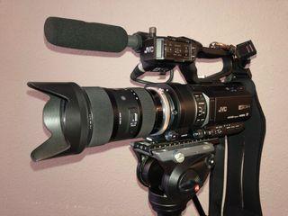 Videocamara JVC GY-LS300 4k profesional