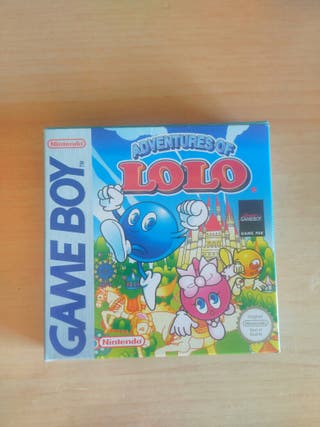 Adventures of Lolo. Game boy