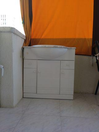 URGE VENDER, mueble de baño, lavabo y mármol