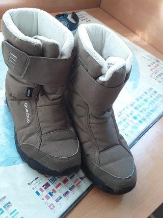 botas nieve 33