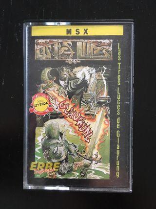 MSX LAS TRES LUCES DE GLAURUNG
