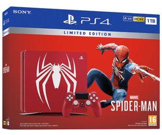 PlayStation 4 Slim 1tb edición Spiderman
