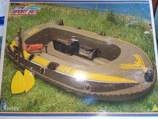 Balsa, barco hinchable INTEX 300