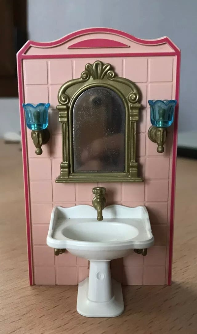 Playmobil lavabo completo casa victoriana