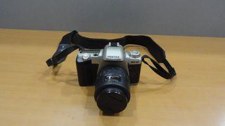 Cámara fotográfica Pentax MZ-50 + objetivo 35-80