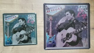 Cartel decoración Elvis Presley, el rey.