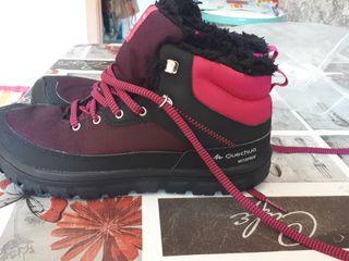 botas de nieve o montaña