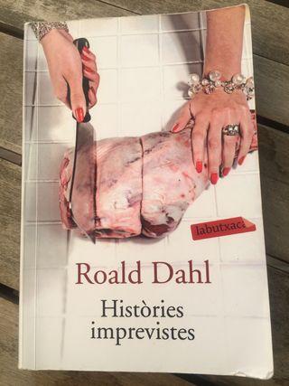 "Libro ""Històries imprevistes"" de Ronald Dahl"