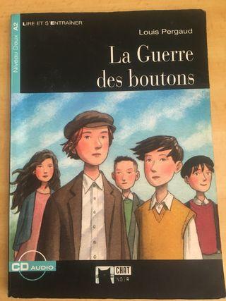 """Libro """"La guerre des boutons"""" ed. Vicens Vives"""
