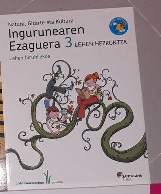 ingurunearen Ezaguera 3 lehen hezkuntza