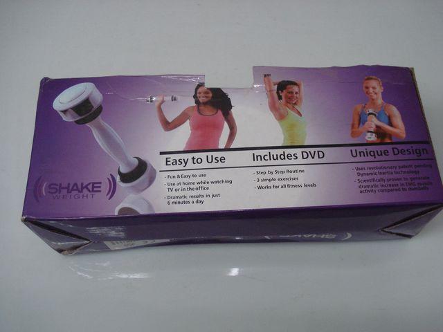 Shake weight mancuerna gym musculacion