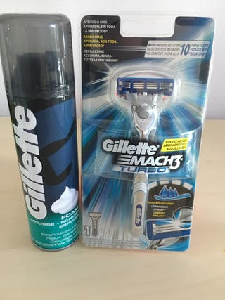 Gillette mach 3 turbo a estrenar