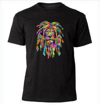 Camiseta RASTAFARI LION nueva-elige talla y color