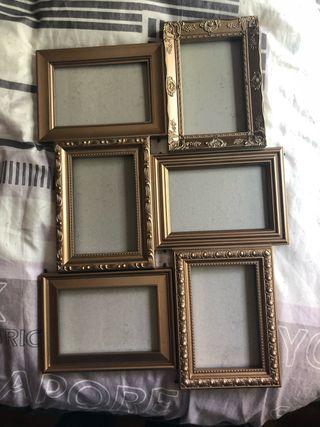 Marco 6 fotos 10x15 nuevo