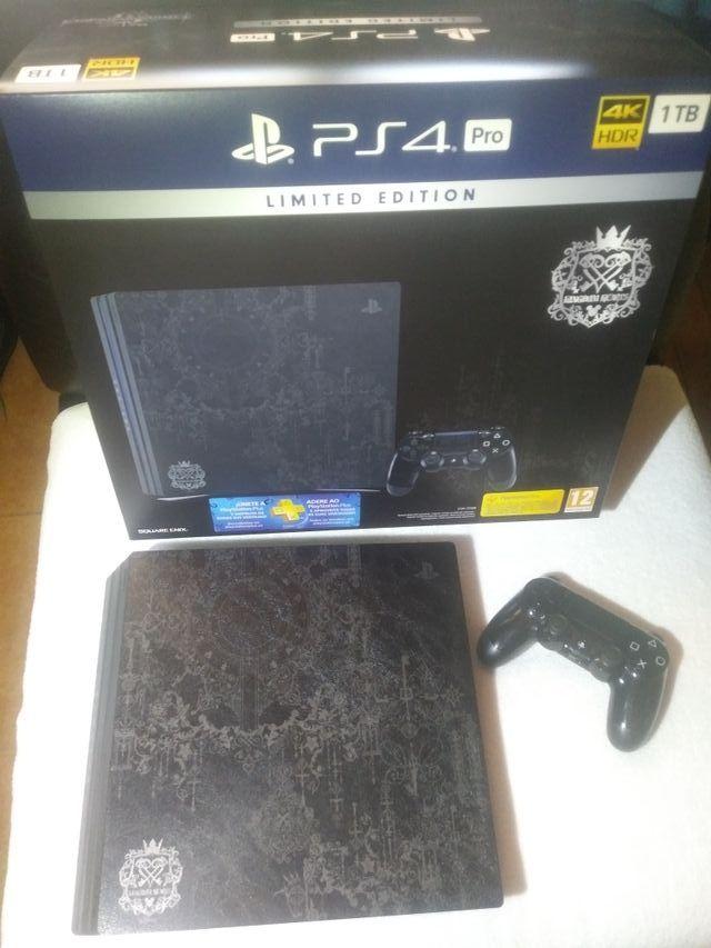 (PS4 Pro 1Tb) *Limited Edition Kingdom Hearts 3 *