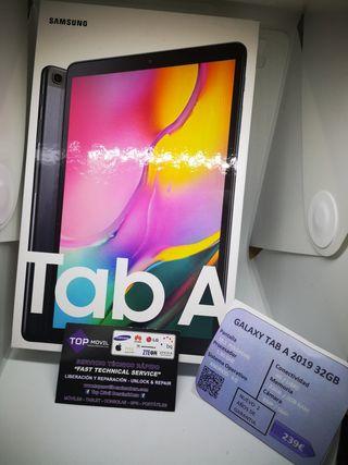 Samsung galaxy TAB A 2019 32gb garantía regalo