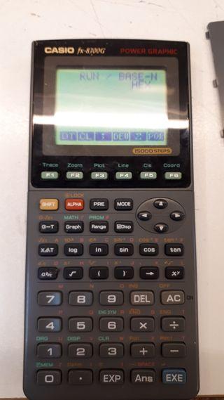 Calculadora científica Casio 8700G