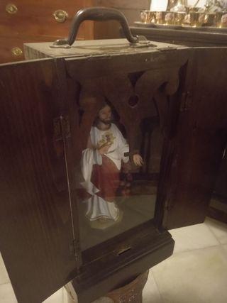 sagrado corazón de Jesús, maletín