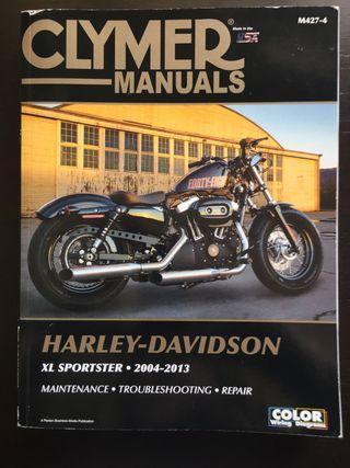 Manual Clymer Harley Davidson Sportster