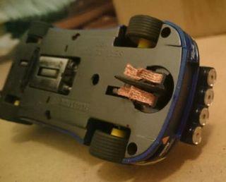 Trencillas coches Scalextric