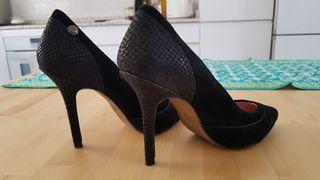 Zapatos Salsa Jeans piel talla 38