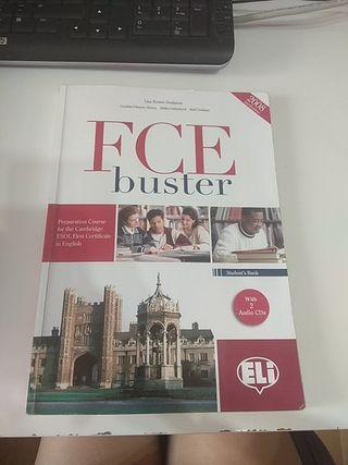 libro FCE buster para preparar B2 de inglés