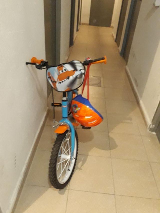 Bicicleta infantil 16 pulgadas aviones