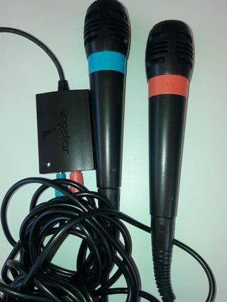 microfonos singstar