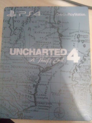 Steelbook Exclusiva Uncharted 4