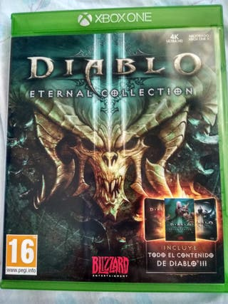 Xbox One x mejorado Diablo 3 eternal colletion