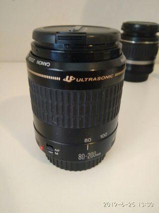 Objetivo Canon 80-200 ultrasonic