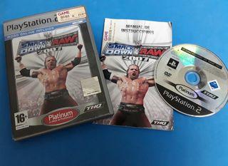 Ps2 - Smack down vs raw 2007