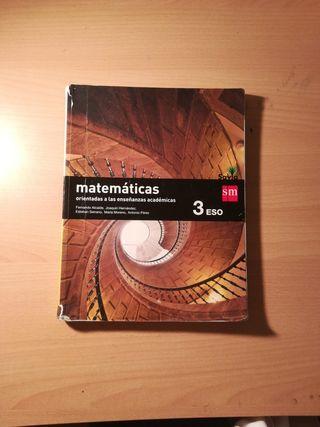 Libro Matemáticas 3°ESO SM