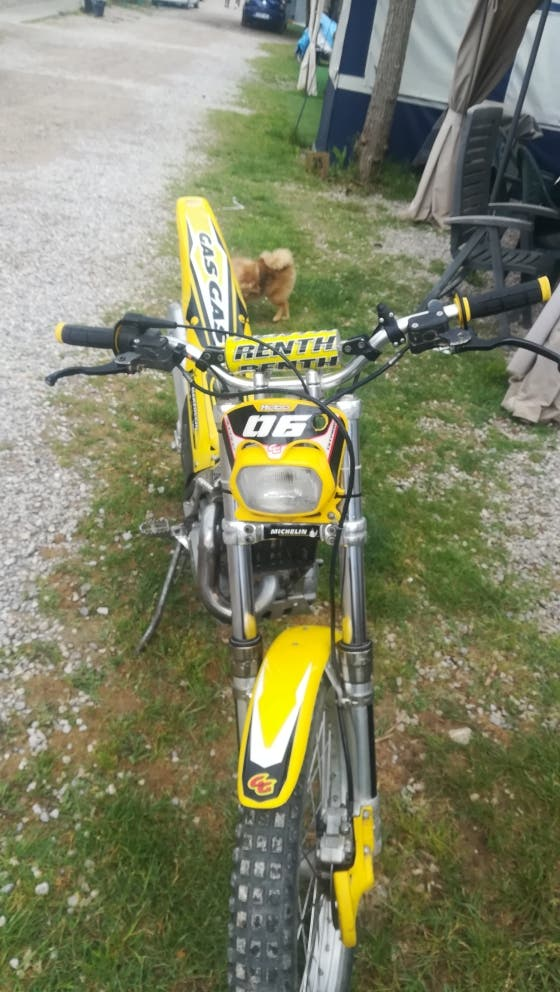 Moto Trial Gas Gas 125cv