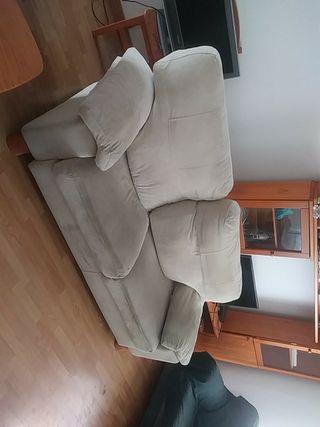Sofá dos plazas sillón
