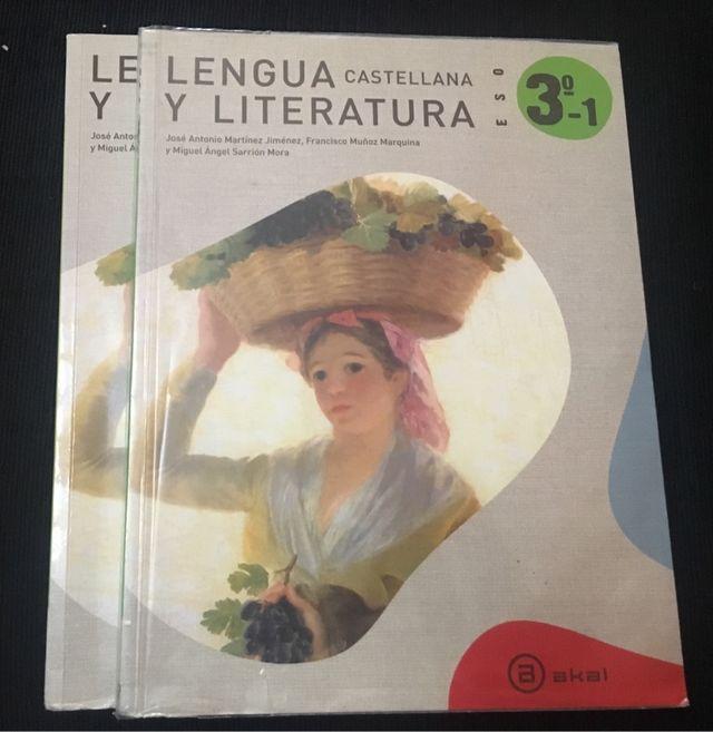LENGUA Y LITERATURA 3ESO Ed Akal