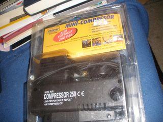 Mini Compresor Aire portátil 12V DC