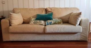 2 sofás. Se pueden ver. Corte ingles