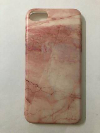Funda Mármol Rosa IPhone 7