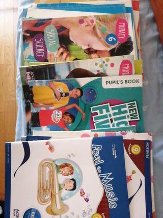 libros sueltos 6 de primaria 10 € cada uno