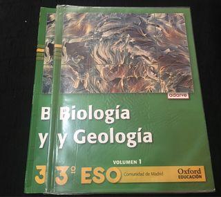 BIOLOGÍA Y GEOLOGÍA 3ESO Ed Oxford Educación