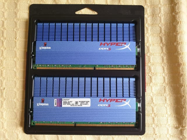 Kingston hyperx 8gb ddr3 RAM