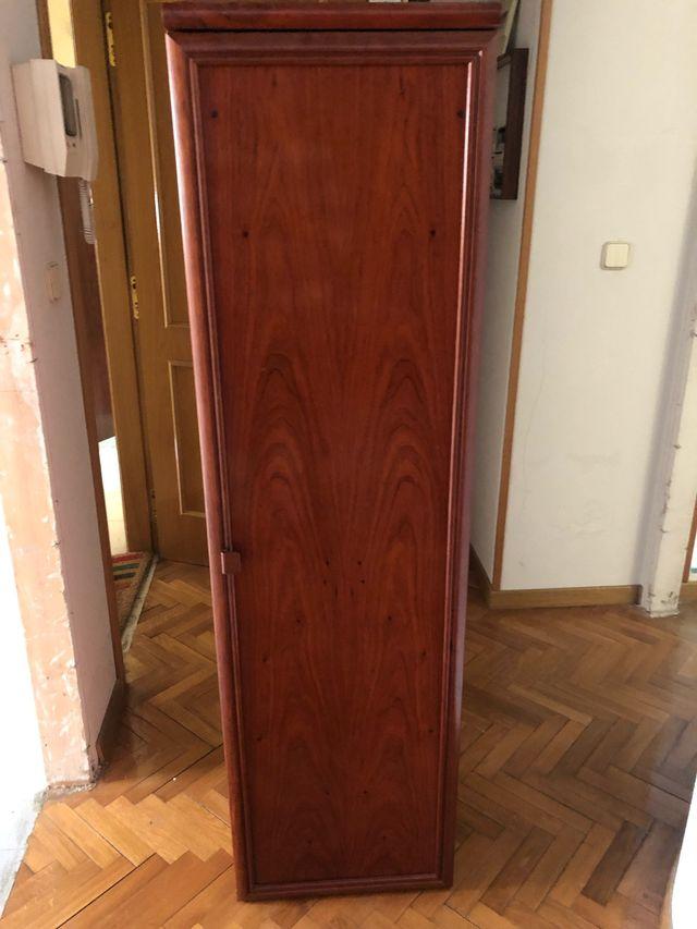 Mueble de salón - estantería con puerta
