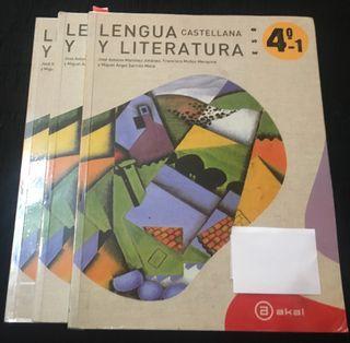 LENGUA Y LITERATURA 4ESO Ed Akal