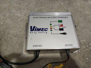 cargador batería