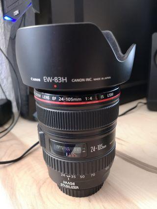 Objetivo Canon EF 24-105mm f4