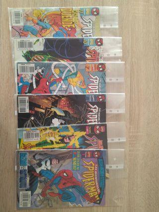 Comics las aventuras de SpiderMan